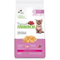 Сухой корм Trainer Natural Kitten - Fresh Chicken, 1,5 кг