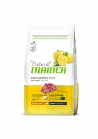 Корм Trainer Natural Mini Adult Beef, Rice and Ginseng (говядина/рис), 2 кг