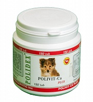 Витамины POLIDEX® Polivit-Ca plus 150 таб (Поливит-Кальций плюс)