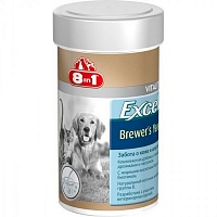 8 in 1 Excel Brewer's Yeast 780 таб.