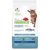 Сухой корм Trainer Natural Exigent Cat - with Ocean Fish, 1,5 кг