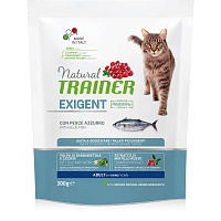 Сухой корм Trainer Natural Exigent Cat - with Ocean Fish, 300 гр
