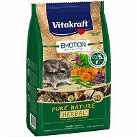 Корм для шиншилл Pure Nature Herbal Chinchilla 600 гр, Vitakraft