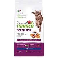 Сухой корм Trainer Natural Cat Adult Sterilised - Salmon, 1,5 кг