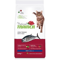Сухой корм Trainer Natural Cat Adult - Tuna, 1,5 кг