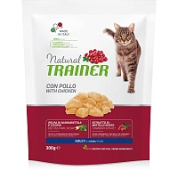 Сухой корм Trainer Natural Cat Adult - Fresh Chicken, 300 гр