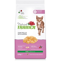 Сухой корм Trainer Natural Young Cat - Fresh Chicken, 1,5 кг