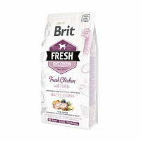Корм Brit Fresh Chicken With Potato Puppy Healthy Growth для щенков, 2,5 кг